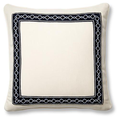 Sail 20x20 Pillow, Indigo Sunbrella