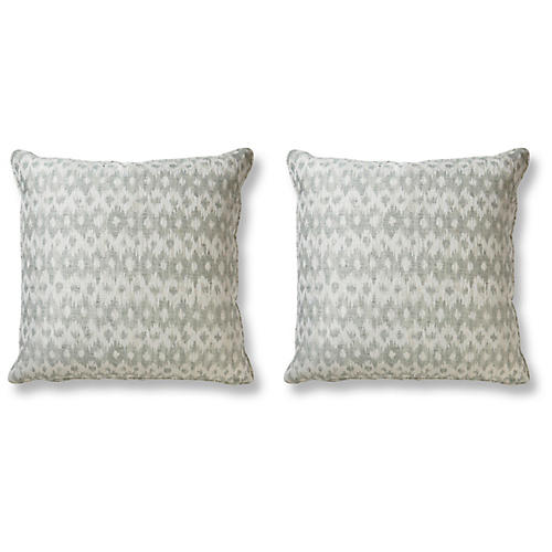 S/2 Taran 20x20 Pillows, Sea Spray