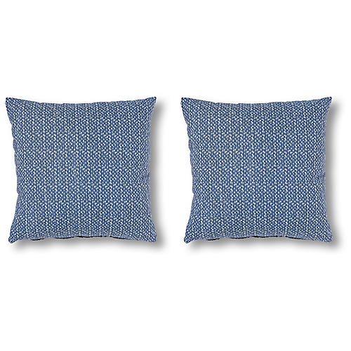 S/2 Breakers 18x18 Pillows, Slate