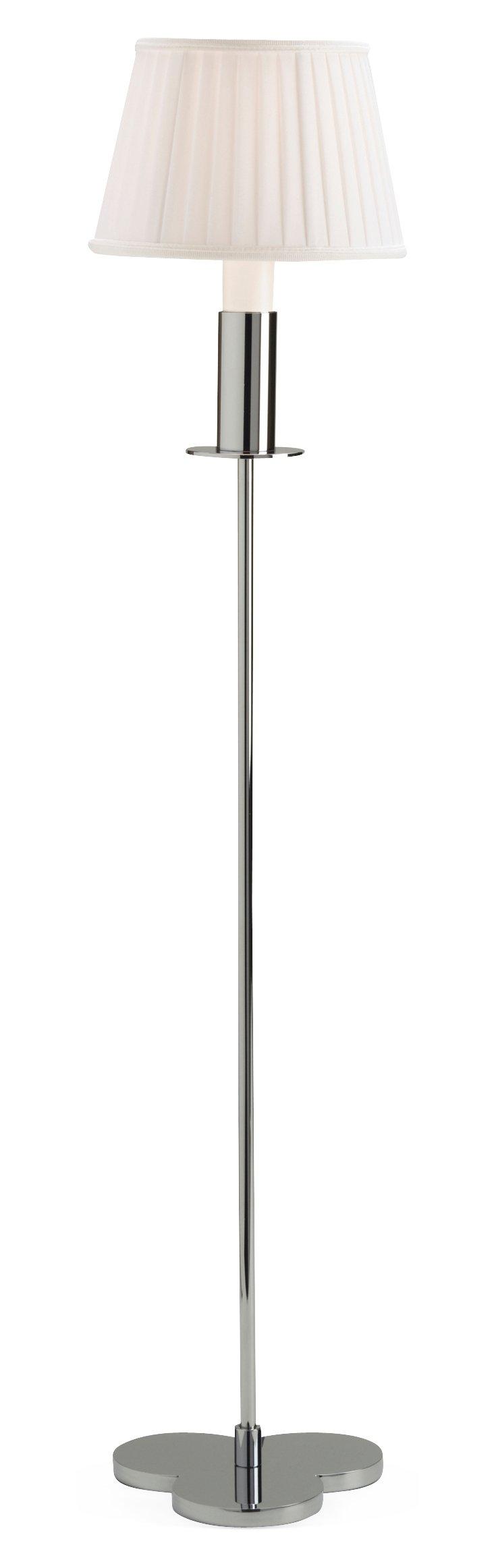 Petite Champs 33'' Table Lamp, Chrome
