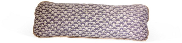 Lavender Fortuny Pillow III