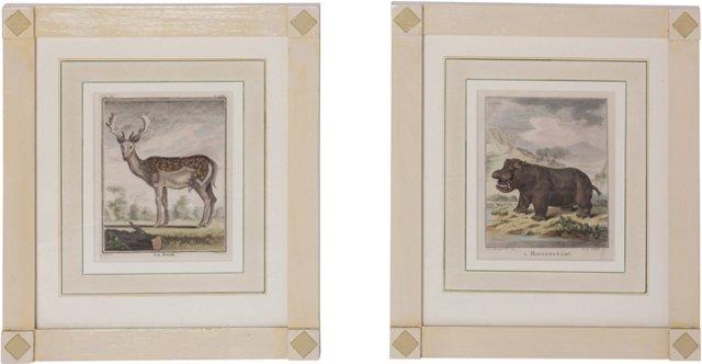 18th-C. Engravings, Pair I
