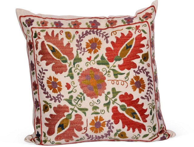 Turkish Embroidered Pillow I