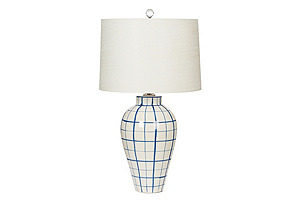 Highlands Table Lamp, Blue*