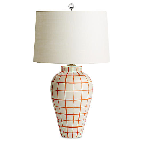 Highlands Table Lamp, Orange