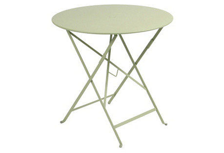 Bistro Round Table, Willow Green