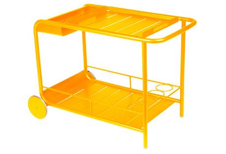 Luxembourg Bar Cart, Honey