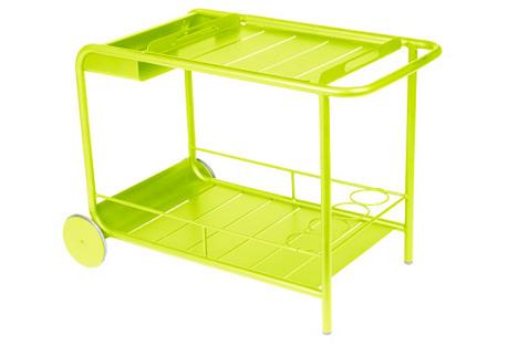 Luxembourg Bar Cart, Verbena