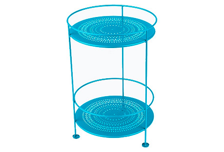 Picadilly Bar Cart, Turquoise