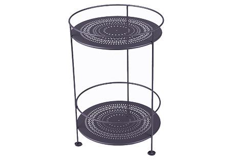 Picadilly Bar Cart, Plum