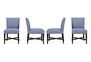 Barclay Butera Avenue Chairs, Set of 4