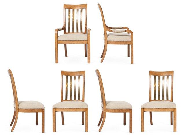 Artisanal Chairs, Set of 6