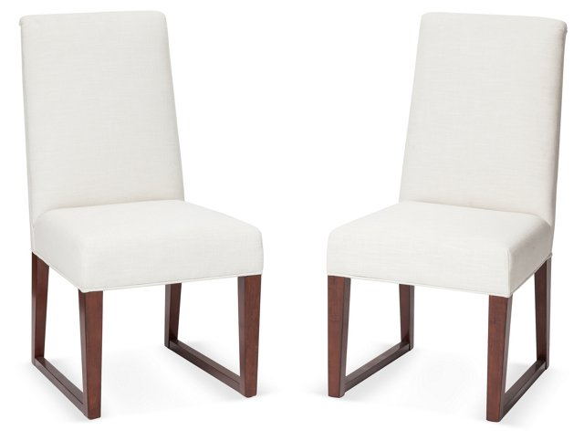 Orleans Chairs, Pair