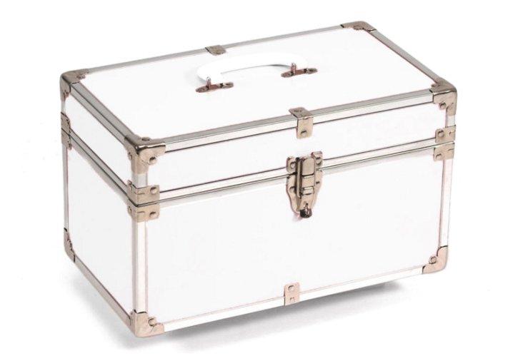 Heirloom Small Storage Box, White