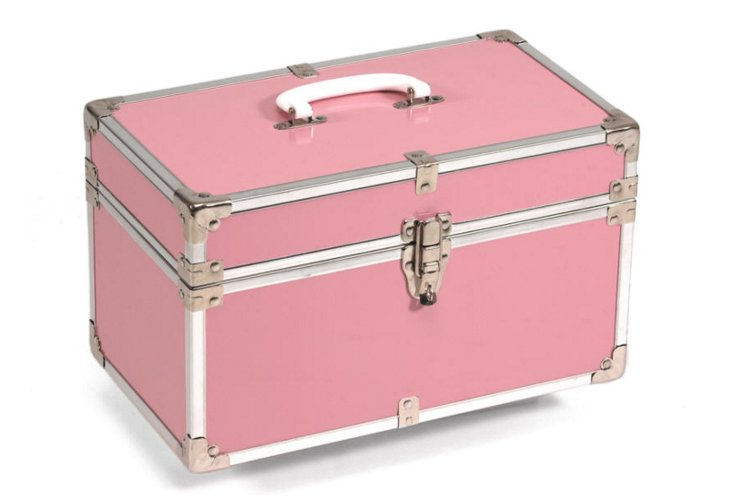 Heirloom Small Storage Box, Pink