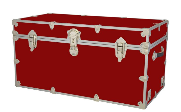 Kids Travel Trunk, Red