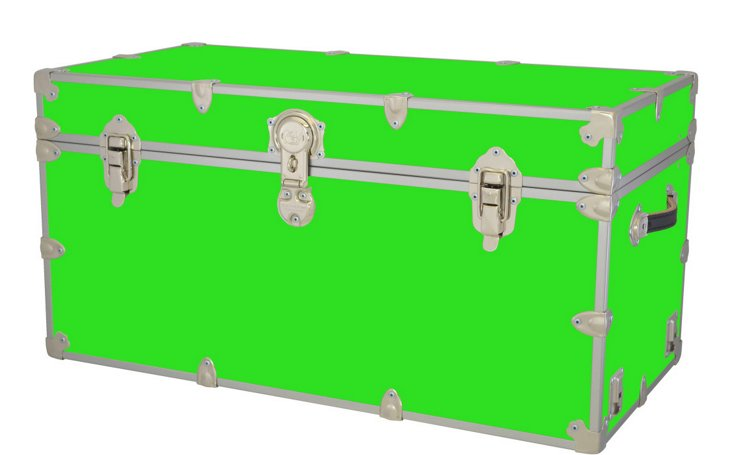 Kids Travel Trunk, Lime