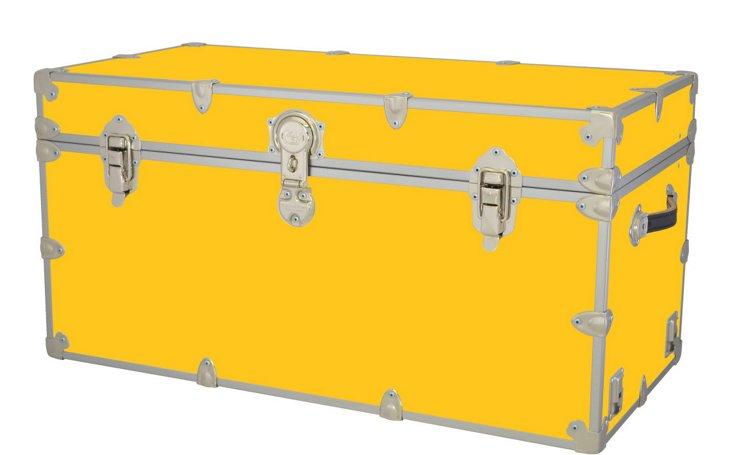 Kids Travel Trunk, Yellow