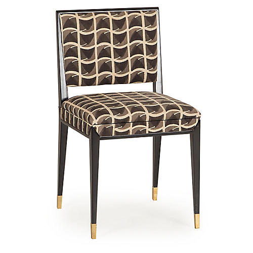 Reform Side Chair, Black