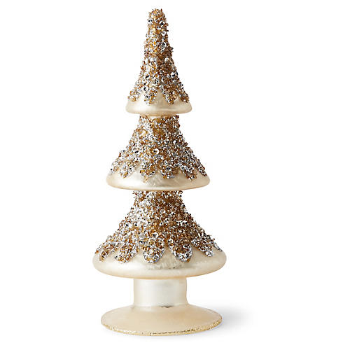Percy Tree Topper Champagne