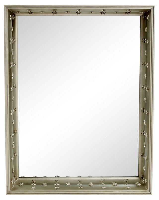Shadowbox Mirror, Silver