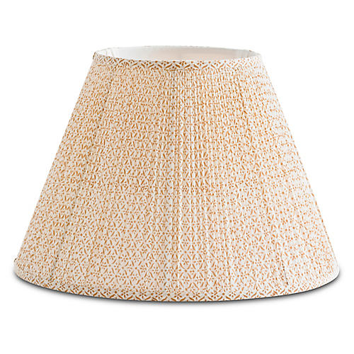 Daisy Lampshade, Yellow/White