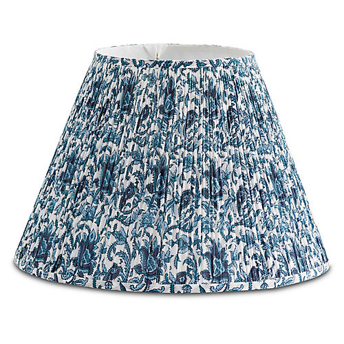 Southern Blues Lampshade, Blue/White