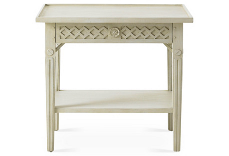 Inge Side Table, Gray