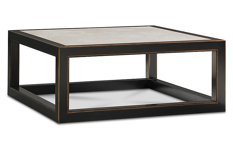 Ming Coffee Table, Cream