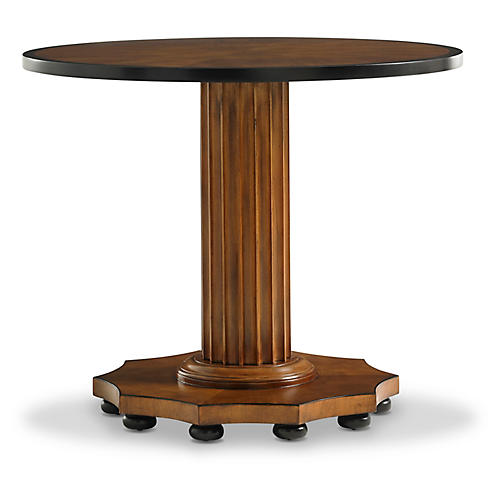 Gottlieb Side Table, Mahogany