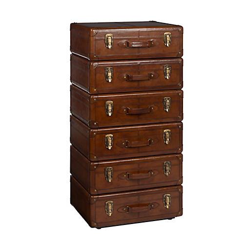 Jackson 6-Drawer Dresser, Hickory