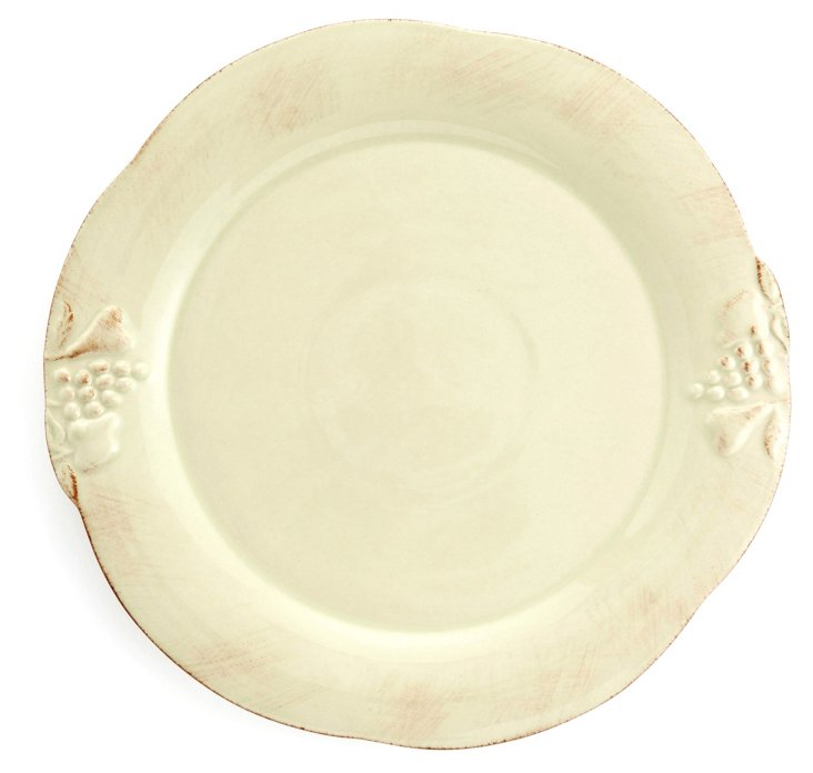 Charger Plate, Green