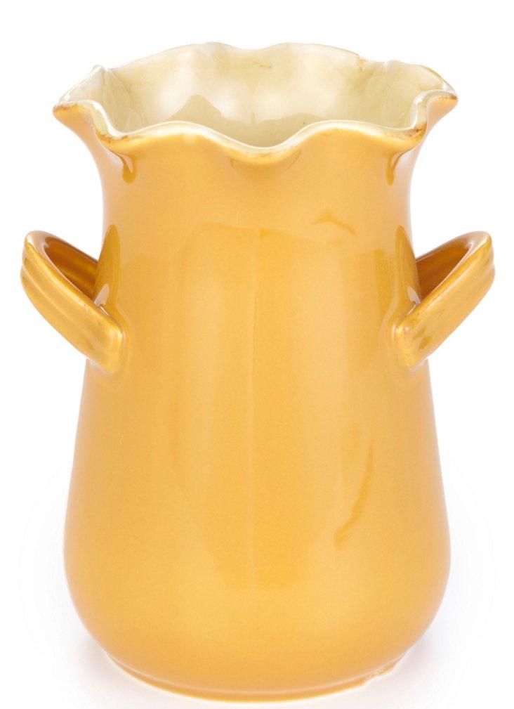 Utensil Holder/Vase, Honey