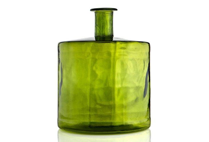 "17"" Vase, Green"
