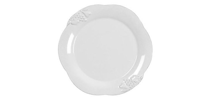 Charger Plate, White
