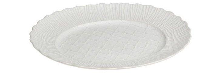 Oval Platter, White