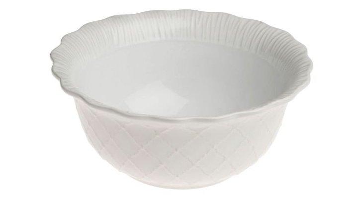 Large Serving Bowl, White
