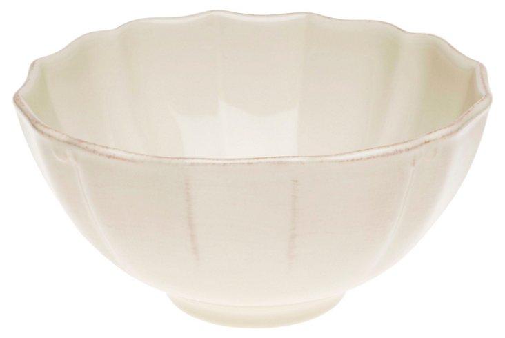 Large Serving Bowl, Cream