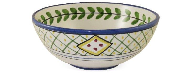 Chili Bowl, Flower and Leaf