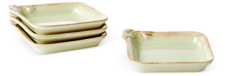 S/4 Dip Dishes, Sage