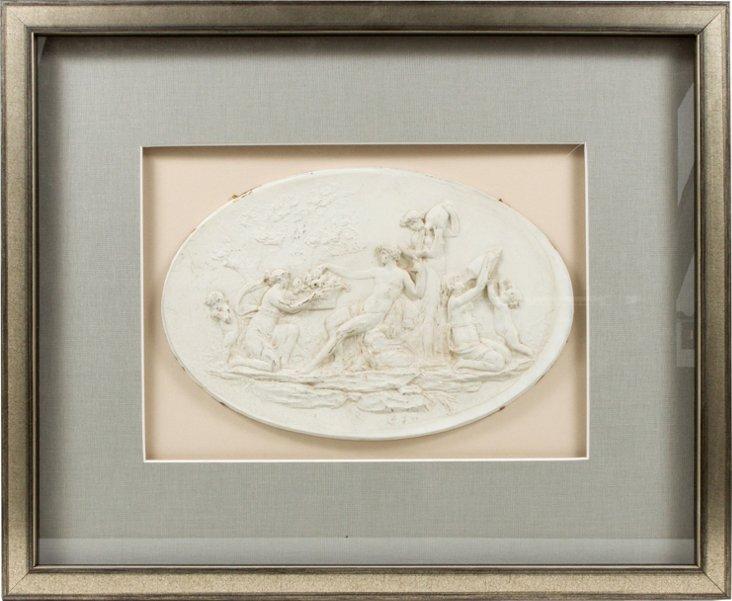 Framed 19th-C. Intaglio