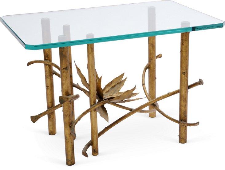 Gilt & Glass Side Table