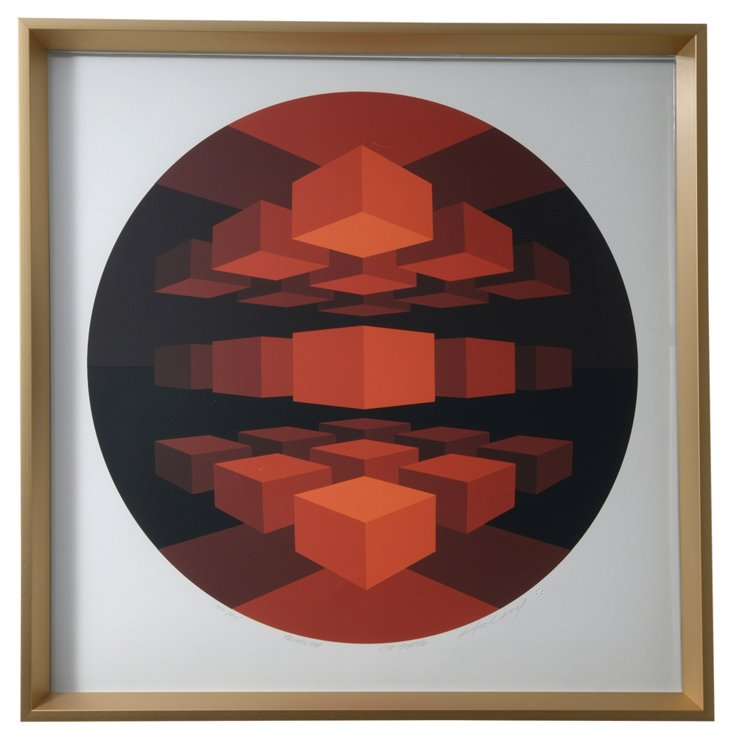 Serigraph by Brian Halsey II