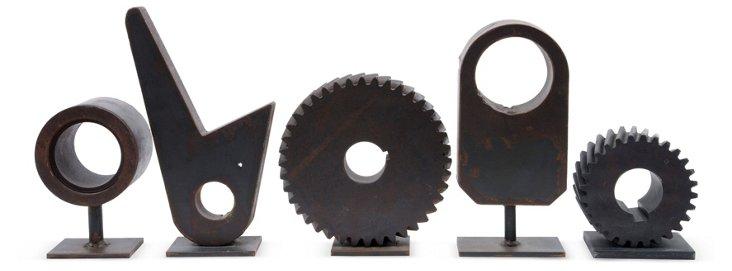 Gear Foundry Patterns, Set of 5, III