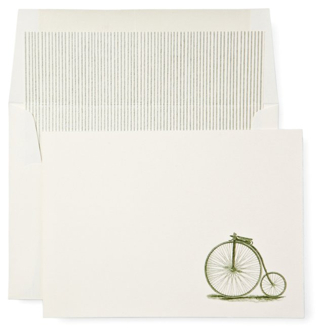 S/12 Cycle Cards and Lined Envelopes