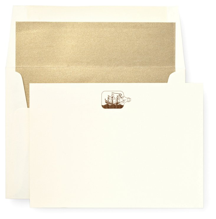 S/12 Curio Note Cards & Envelopes