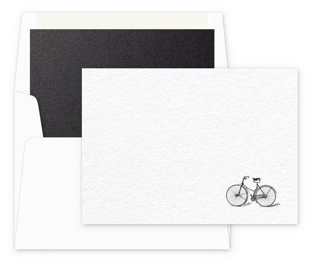 S/12 Note Cards & Envelopes, Cycle