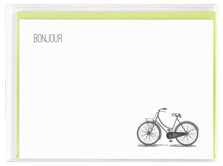 S/15 Card Set, Bonjour Bicycle