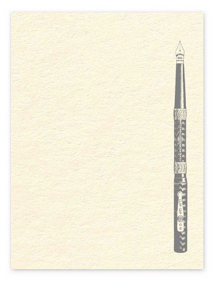 S/100 Vintage Pen Cards
