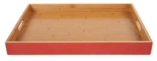 Classic Tray, Red